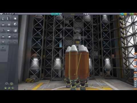 Kerbal Space Program - Episode 9: Synchronous Rocket
