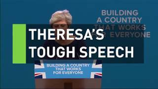 Theresa May's speech turns into a living nightmare