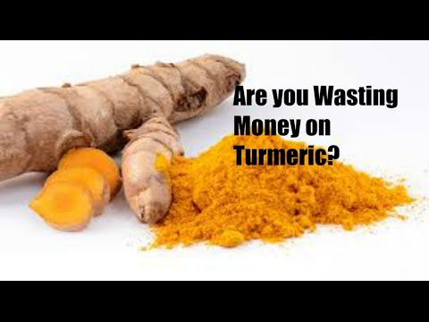 Turmeric & Curcumin can be a HUGE Waste of Money if you Don't Do This