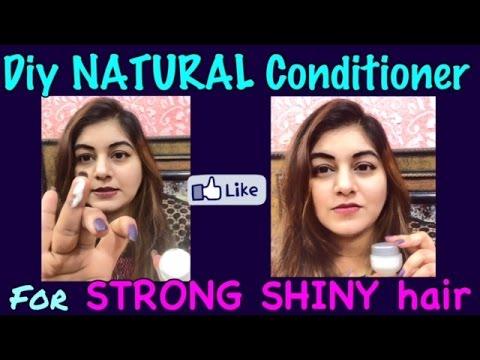 DIY NATURAL Homemade Conditioner for LONG SHINY HEALTHY hair   JSuper Kaur