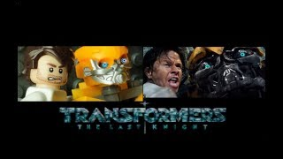 Transformers in LEGO  The Last Knight  - side by side  Trailer 2017   Michael Bay Movie