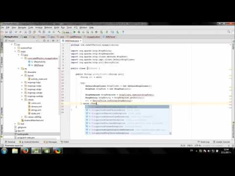 Working with XML in Android Studio