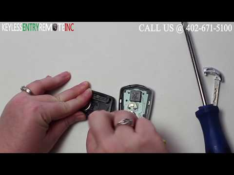 How To Replace Cadillac SRX Key Fob Battery 2015