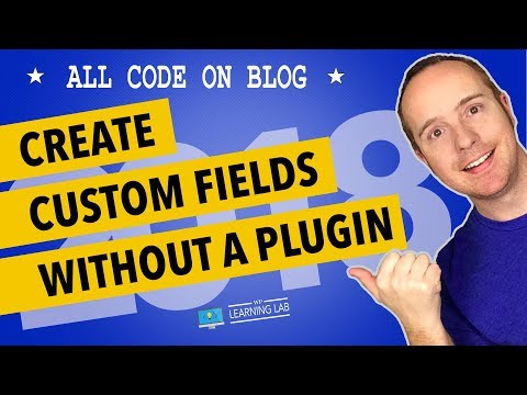 WordPress Custom Fields Tutorial Without Plugin