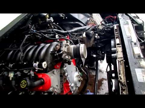 How To LS Swap An 1994-1996 Impala SS (engine running)