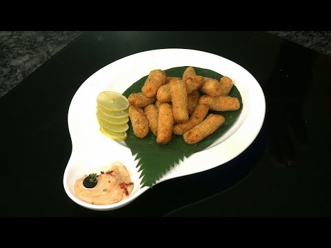 How to Make Fish Fingers with Philips Airfryer by VahChef