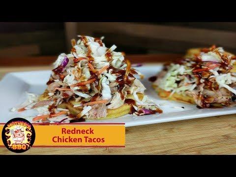 Redneck Chicken Tacos   RecTec BullsEye Grill