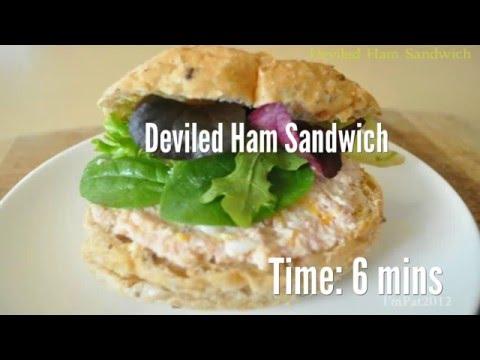 Deviled Ham Sandwich Recipe