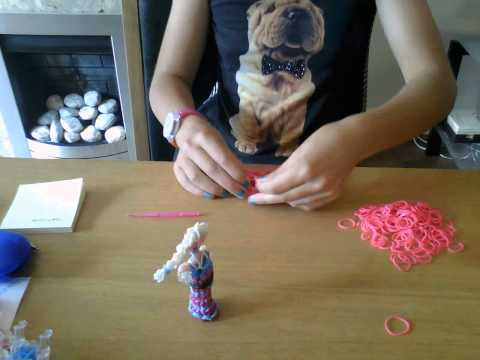 how to make loom band dress and cape part 1
