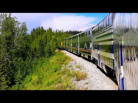 Views From The Alaska Train:  Whittier to Denali