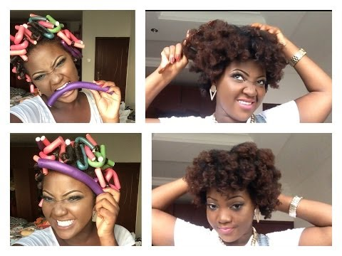 HOW I USE FLEXI RODS(BENDY ROLLERS) ON MY NATURAL HAIR