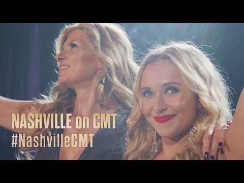 NASHVILLE on CMT   Nashville in a Nutshell Part 1 feat. Hayden Panettiere and Connie Britton