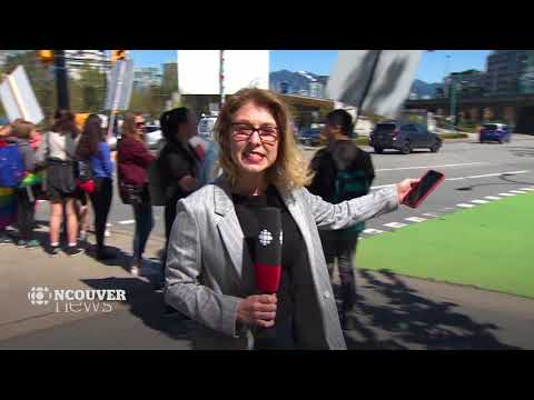 CBC Vancouver News: Duelling protests staged at BCTF's office over LGBT-inclusive curriculum