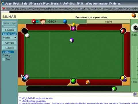 Auto Break  Yahoo Pool TRAINING Break Ball in Hand