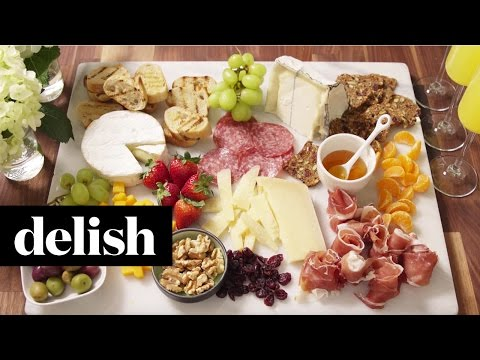 How To Build The Ultimate Cheese Platter   Delish