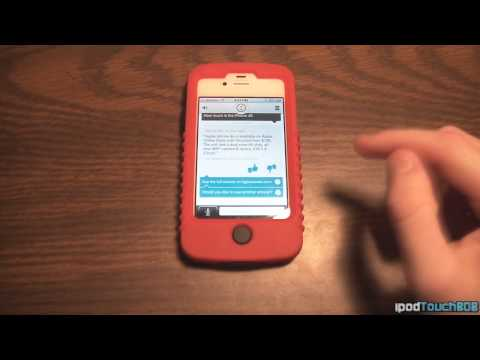 Evi iPhone App Demo and Review - Siri
