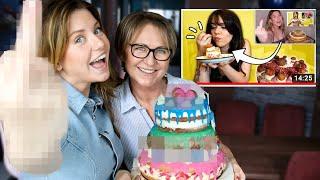 """Die RACHE meiner Mutter an Vanessa's """"Ich rette Kellys Rache Erdbeer Marshmallow Vanille Torte!"""""""