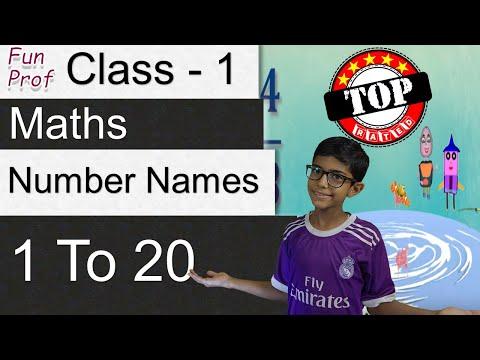 Learning Number Names - Grade 1/Class 1 - Kids- Teaching-Kids