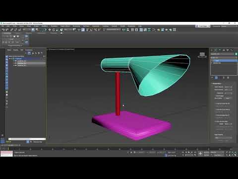 3ds Max Getting Started - Lesson 13 - Polygon Modeling Part 2