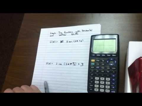 Graph trig functions with horizontal and vertical shifts - 25