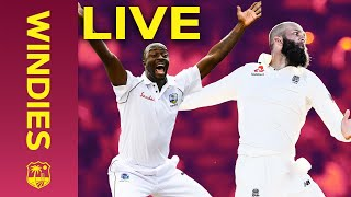 LIVE FULL Replay | Windies v England 1st Test Day 2 - 2019 - FULL DAY | Windies