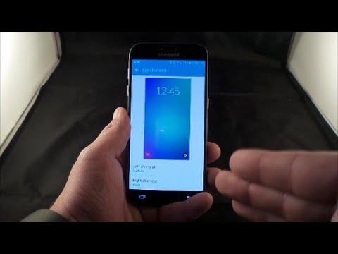 Galaxy S7/S7 Edge - Lock Screen & Always-On Tutorial