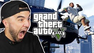 People Try The Ragdoll Challenge in Grand Theft Auto V