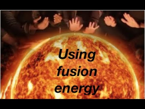 Nuclear fusion -building new atoms for beginners: from fizzics.org