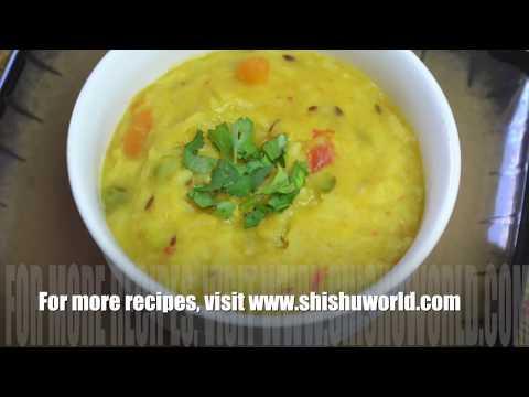 शिशु के लिए दाल और सब्जी की खिचड़ी | Dal Vegetable Rice Khichdi in Hindi
