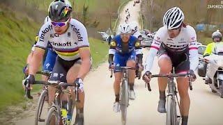 Fabian Cancellara OUTCLIMBING Peter Sagan and Quickstep : Strade Bianche 2016