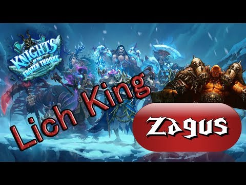 Hearthstone: Lich King Cheat Kill! (Warrior)