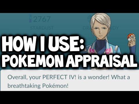 Pokemon GO ★ POKEMON APPRAISAL SYSTEM: How a Top Player Uses Pokemon Appraisal in Pokemon GO!