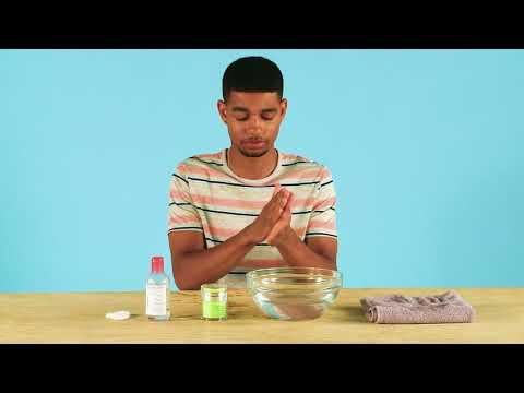 How to use an acid peel | ASOS Menswear grooming tutorial
