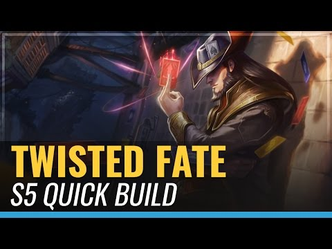 Twisted Fate  - S5 Quick Build - League of Legends