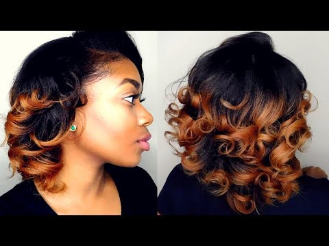 How To: Curl Straightened Natural Hair| NO HEAT DAMAGE