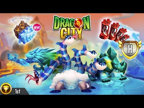Dragon City - Fire & Ice Island + All Dragons [First Looks]