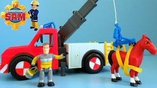 Fireman Sam Fire Truck unboxing   Brandweerman Sam Brandweerwagen