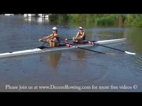 How to do the rowing catch