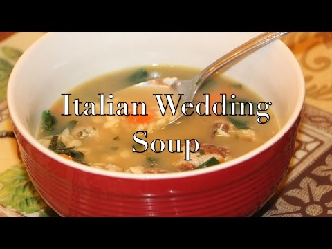 How to make The Best Italian Wedding Soup 🍜!