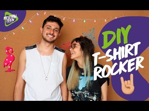 DIY: T-Shirt Rocker  | Festival Teen