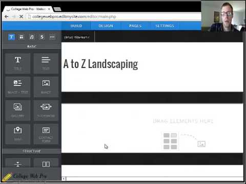 CWP Client Editing System Lesson 1: Change the Page Title, Add & Remove Pages, Sub-pages, and a Logo