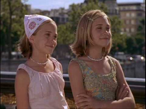 The Olsen twins in Passport to paris