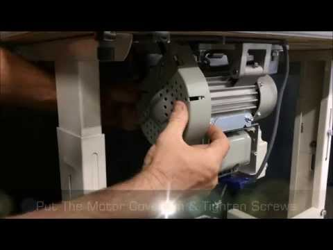 Changing a Clutch Motor to a Servo Motor by Sewing Machines Australia (SMA)