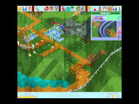 Let's Play Roller Coaster Tycoon 1! Mothball Mountain 5/6