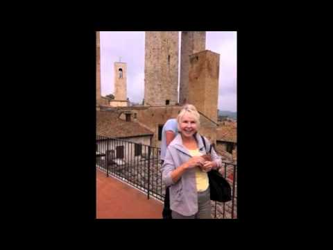 Chelsie's Travels: Rooftops in San Gimignano