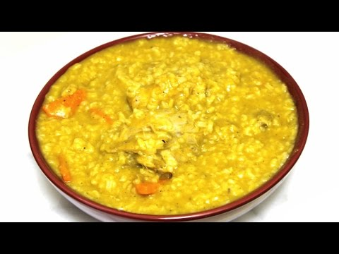 Dominican Chicken and Rice Soup - Asopao De Pollo Dominicano