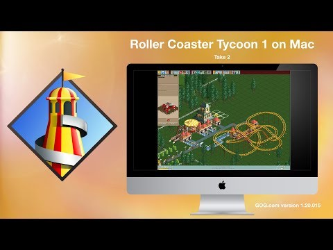 Roller Coaster Tycoon 1 GOG version for Mac v2