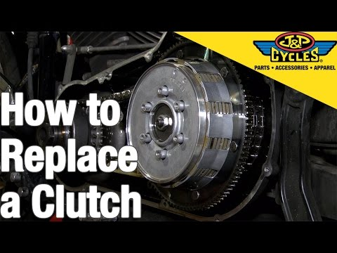 How to Replace a Clutch in a Big Twin Harley Davidson