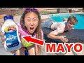 Mayo Sunscreen Prank On Carter mp3
