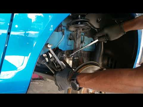 Ford fiesta front struts replacement